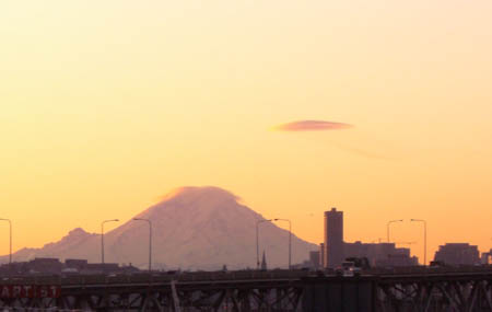 Rainier from Seattle