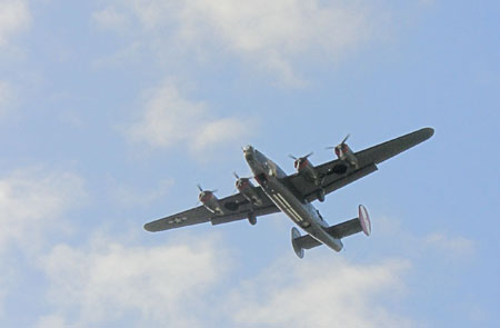 Photo of WWII bomber